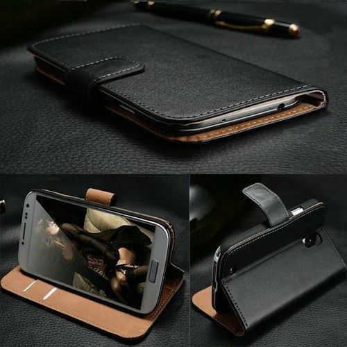 hot sale online de94b 2816b Luxury Leather Flip up Wallet Case Cover Stand for Samsung Galaxy Mega 6.3  I9200