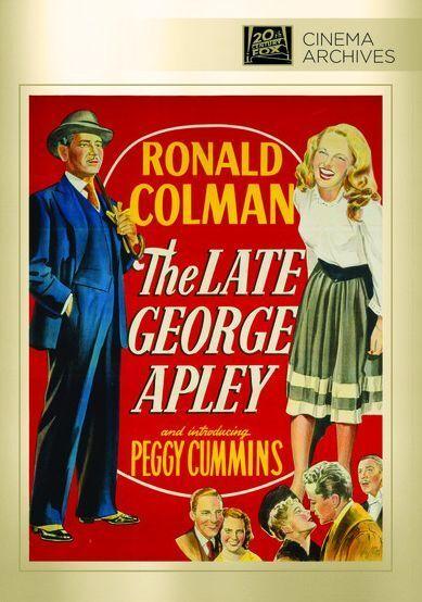Late George Apley - Region Free DVD - Sealed