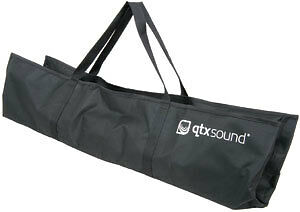 BAG014 QTX SOUND SPEAKER STAND BAG SMALL FOR 2 STANDS 970X520MM