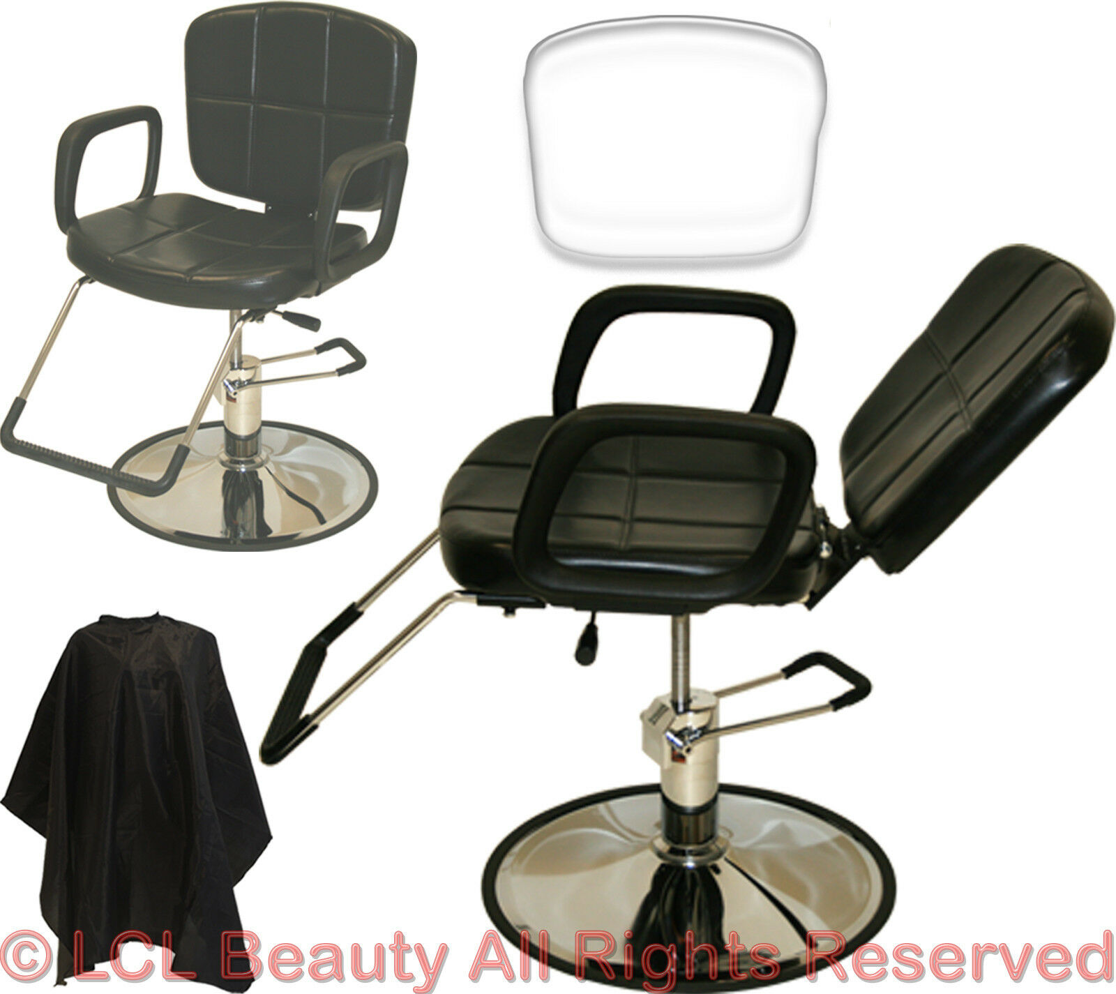 Recline All Purpose Hydraulic Styling Barber Chair Shampoo Hair