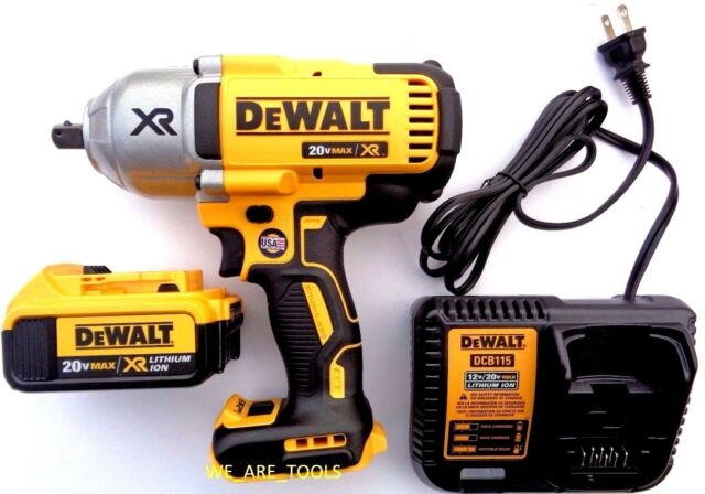 dewalt dcf899 1 2 3 speed impact wrench 20v max xr kit ebay. Black Bedroom Furniture Sets. Home Design Ideas