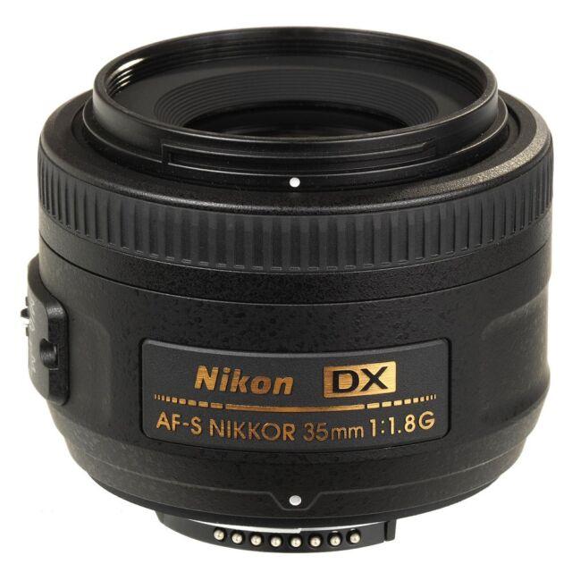 Nikon AF-S DX NIKKOR 35mm f/1.8G Lens Brand New Retail Package