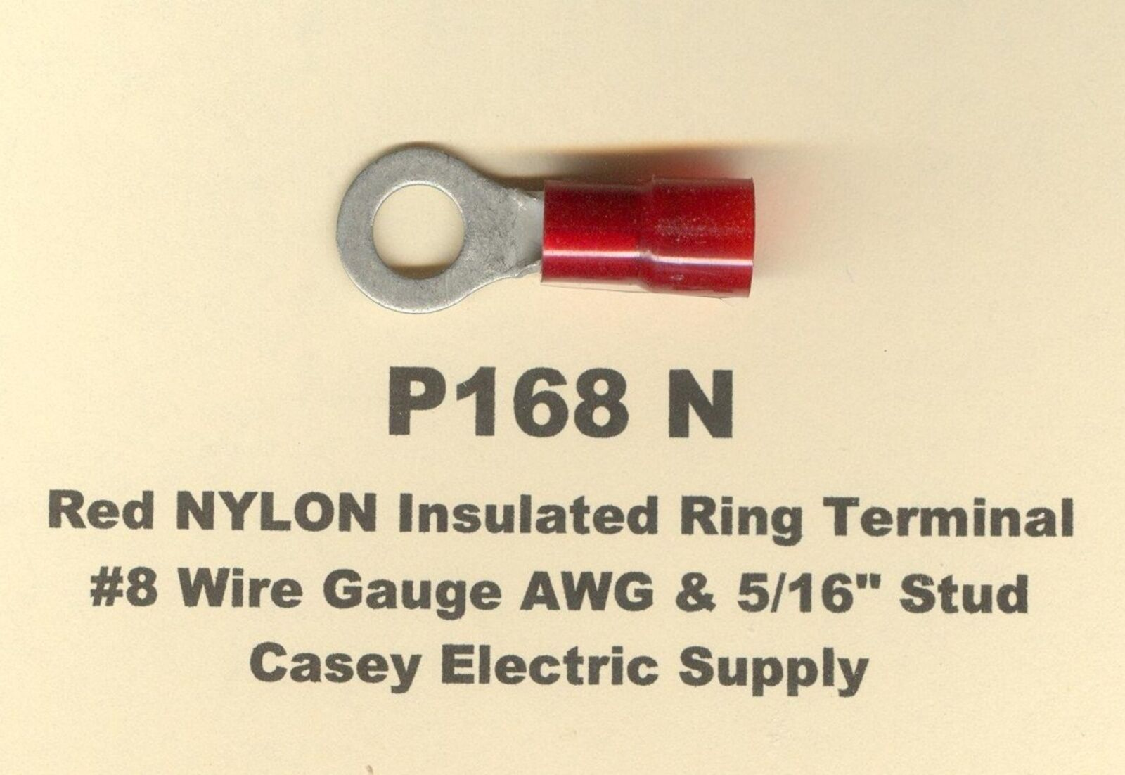 Old fashioned insulated wire 20 gauge image collection simple 20 red nylon insulated ring terminal connector 8 wire gauge 516 greentooth Gallery