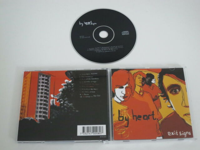 BY HEART/EXIT SIGNS(BY HEART BY0101) CD ALBUM