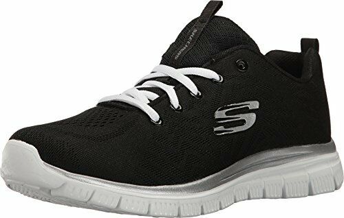 Skechers Graceful Get Connected Black/White Womens Training Sneaker Size 6M