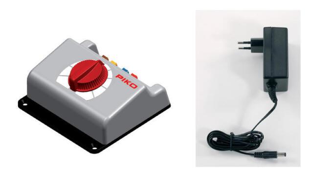 PIKO 55008/55000 Fahrregler Basic mit 36VA Netzteil                       #26018