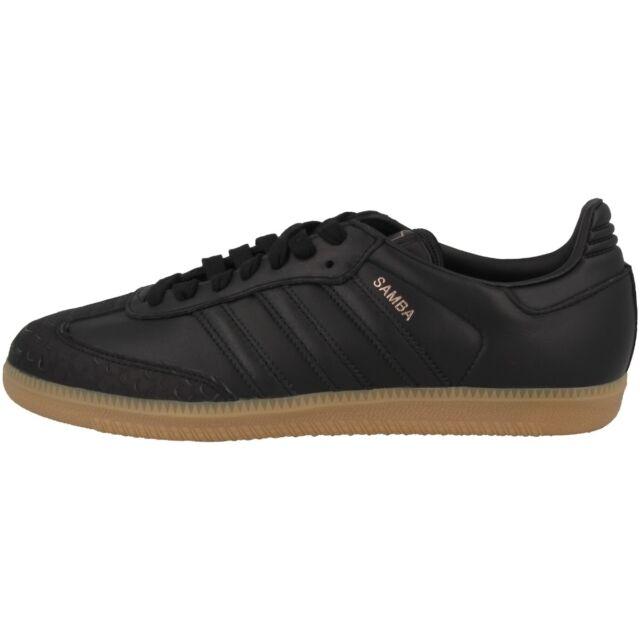 adidas Samba Sneaker donna Tempo Libero Scarpe di PELLE BLACK cq2641 CALCIO