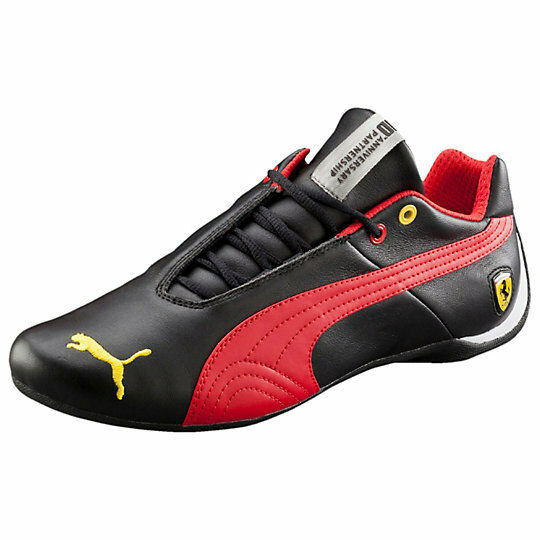 Puma Future Cat Leather SF 10 Black Sneakers - Men