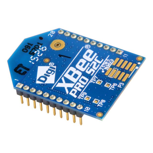 XBee Pro 63mw Wire Antenna Series 2b ZigBee Mesh W/ Integrated ...