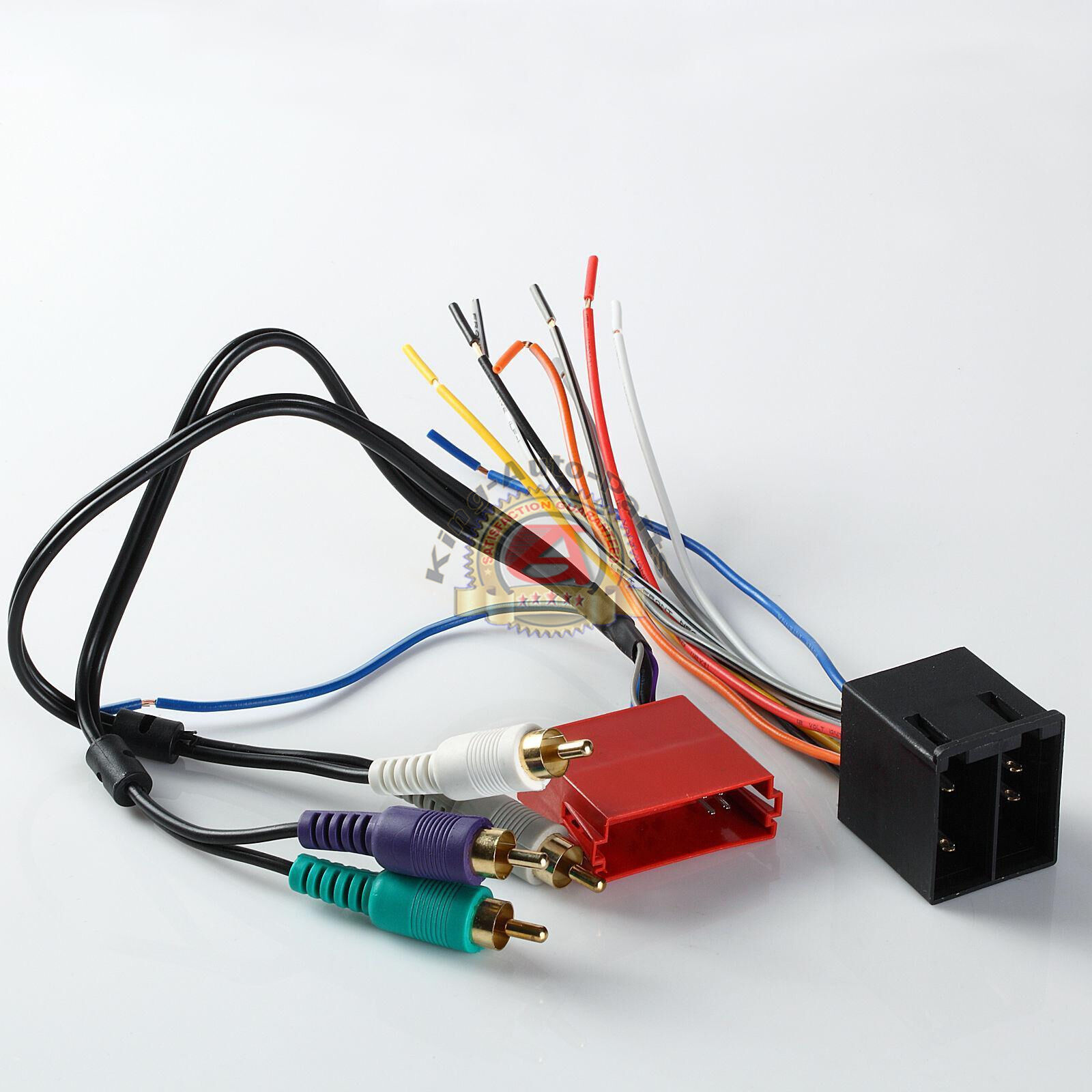 Excellent Stereo Radio Replacement Wiring Harness Amp Integration Wire Adapter Wiring Digital Resources Unprprontobusorg