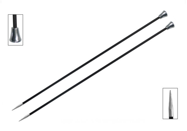 Knit Pro Karbonz Knitting needles 25cm, 35 cm - all Sizes