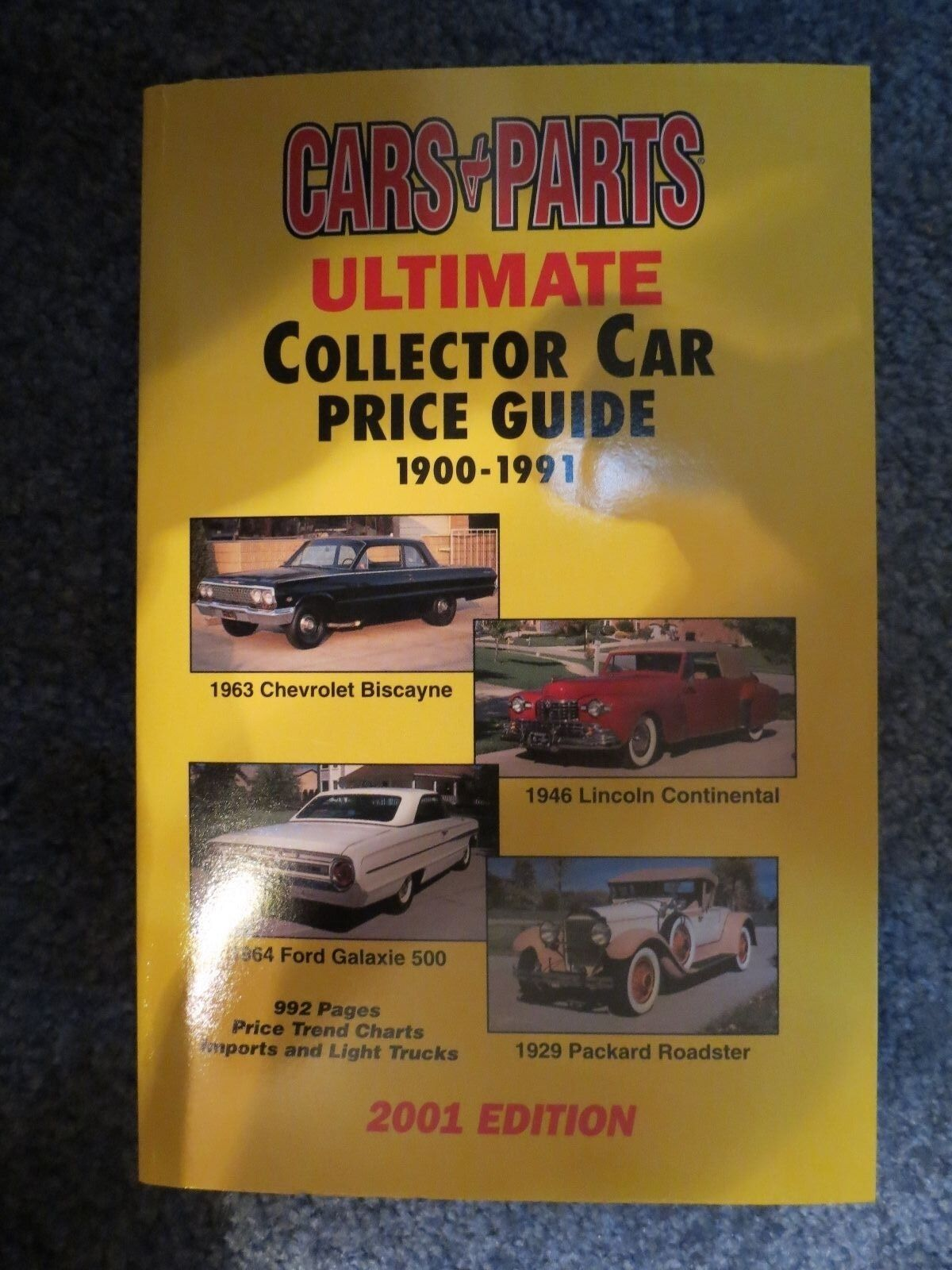 Ultimate Collector Car Price Guide, 1900-1990 : 1997 Edition by Cars ...