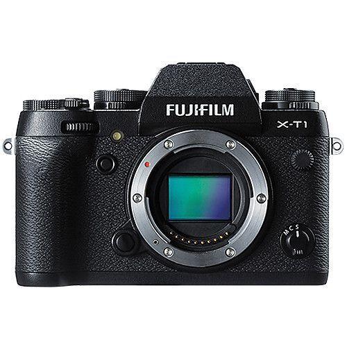 Fujifilm X Series X-T1 16.3MP Digital SLR Camera - Black (Body ...