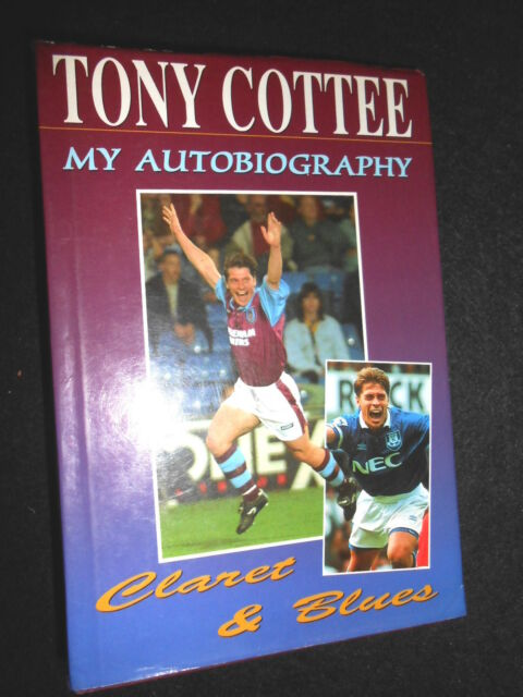 SIGNED; Tony Cottee, Claret and Blues - 1995-1st - West Ham/Everton Footballer