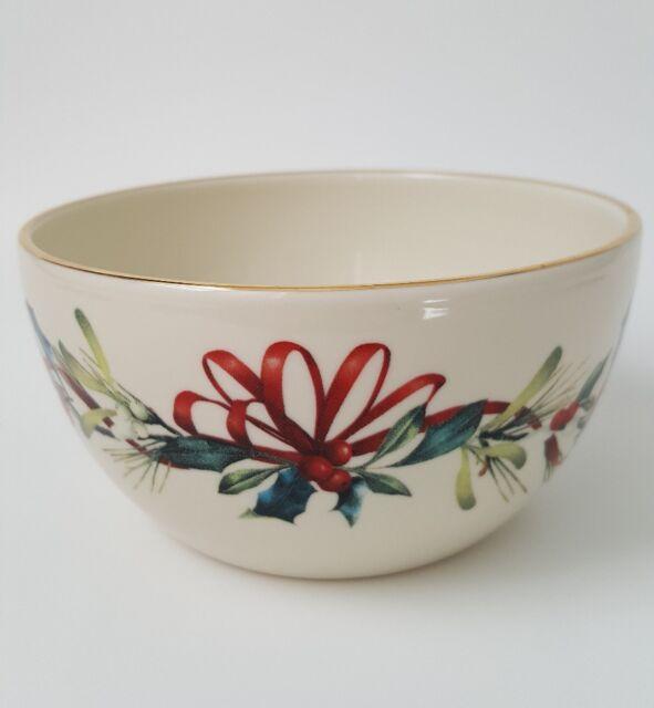 Lenox winter greetings 5 bowl catherine mcclung 847254 ebay lenox winter greetings 5 bowl ivory m4hsunfo