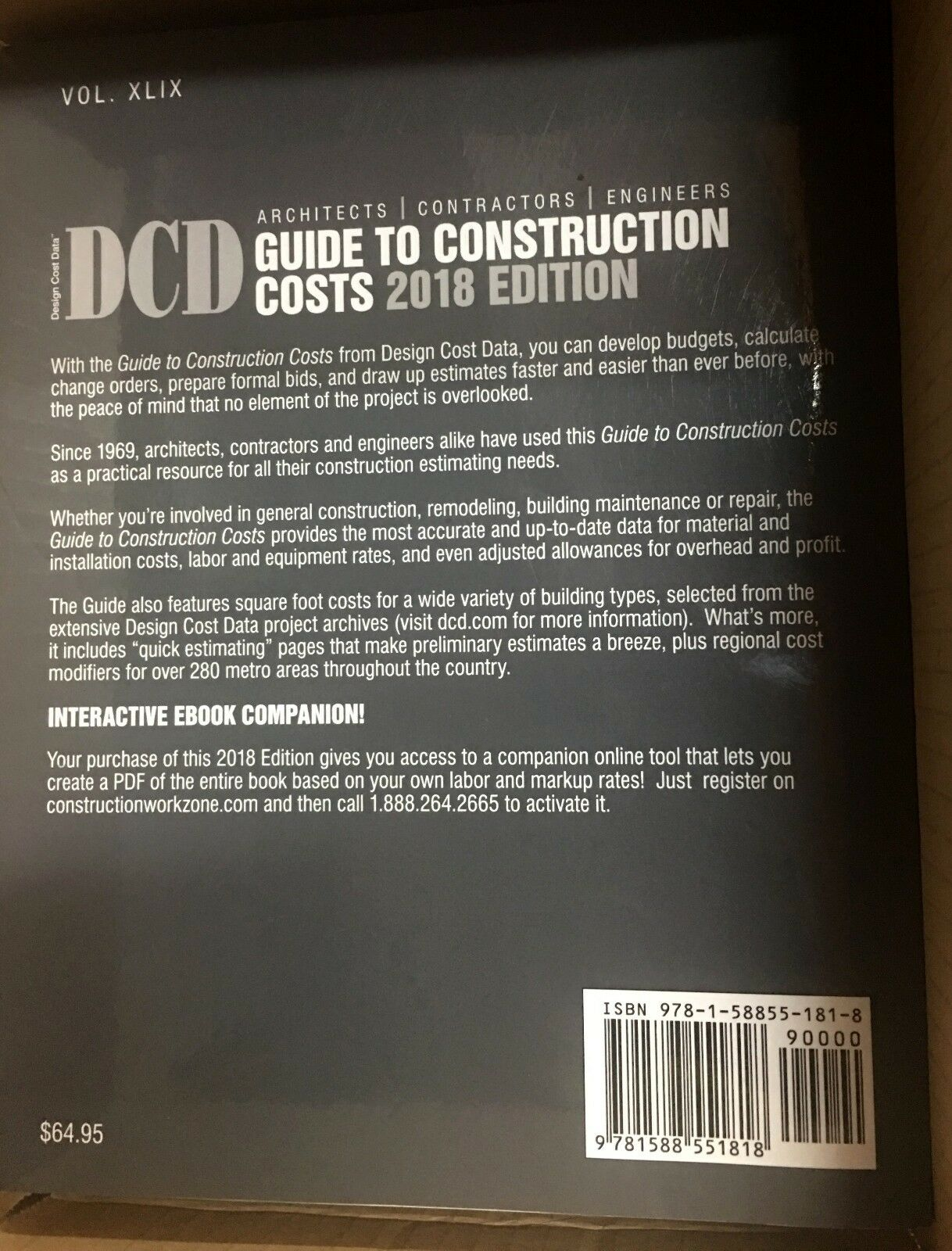 architects contractors engineers guide to construction costs by ace rh ebay com guide to construction costs dcd 2018 digital means guide to construction costs