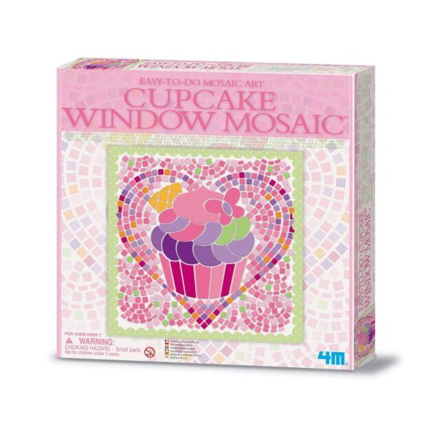4M Cupcake Window Mosaic Kit Age 7+