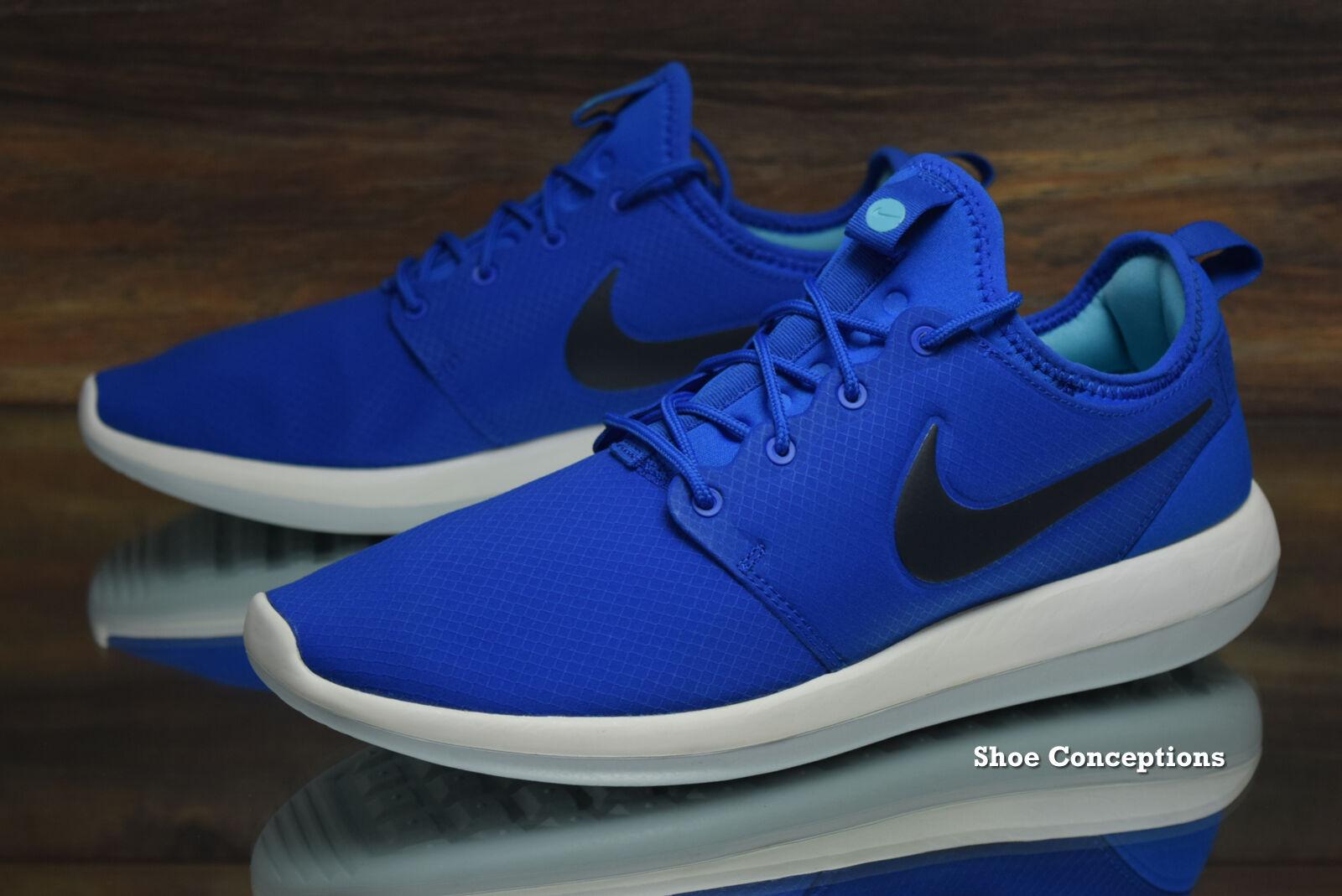Nike Roshe Two SE 2 Rosherun Blue Black Men Running Shoes Sneakers 859543400