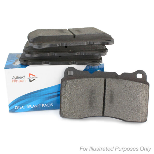 19mm Thick Allied Nippon Front Brake Pads Genuine OE Quality Braking Service
