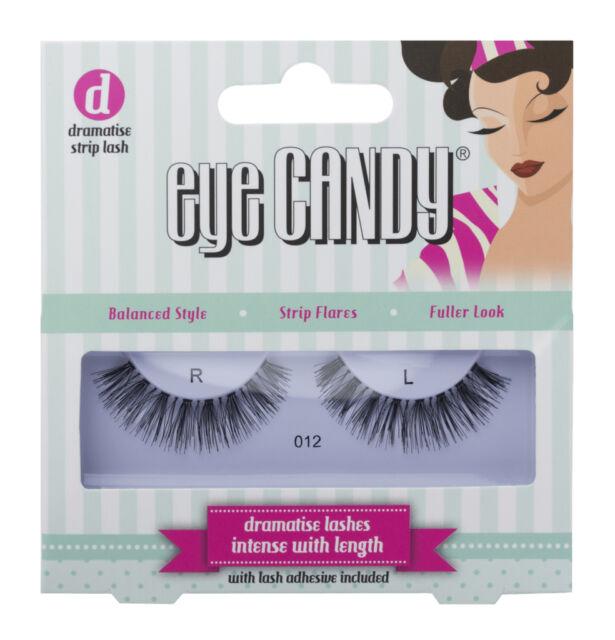 Eye Candy 50's Style Lashes - 012 - False Eyelashes with Glue Adhesive