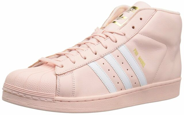 adidas Pro Model Men's Shoes Ice Pink White Gold CQ0625 Size 8.5