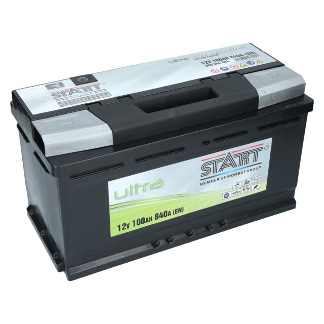 Autobatterie 100Ah Extreme Ultra SMF +30% VW T4 2,4L D, Vw T3 Bus 2,1L