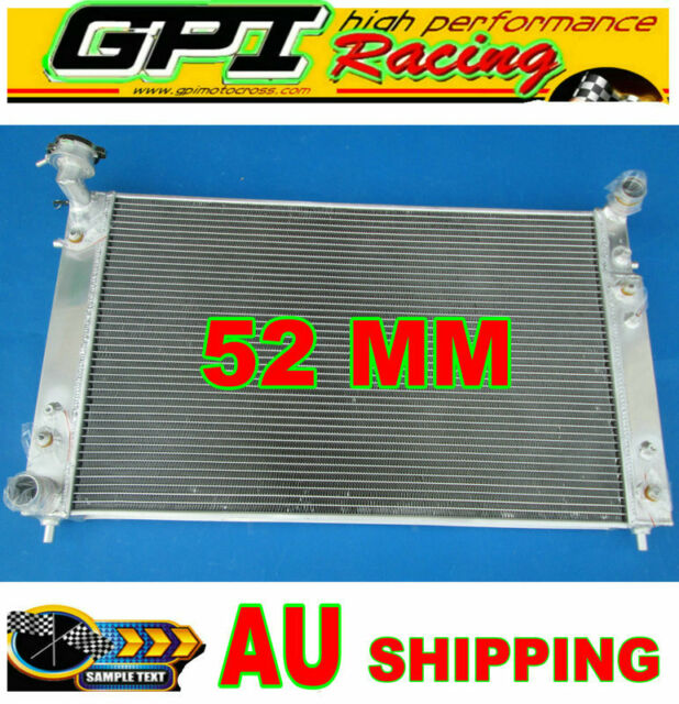 52MM Aluminum Radiator fit Holden Commodore VT VX 3.8L V6 Petrol 97-02 AT/MT