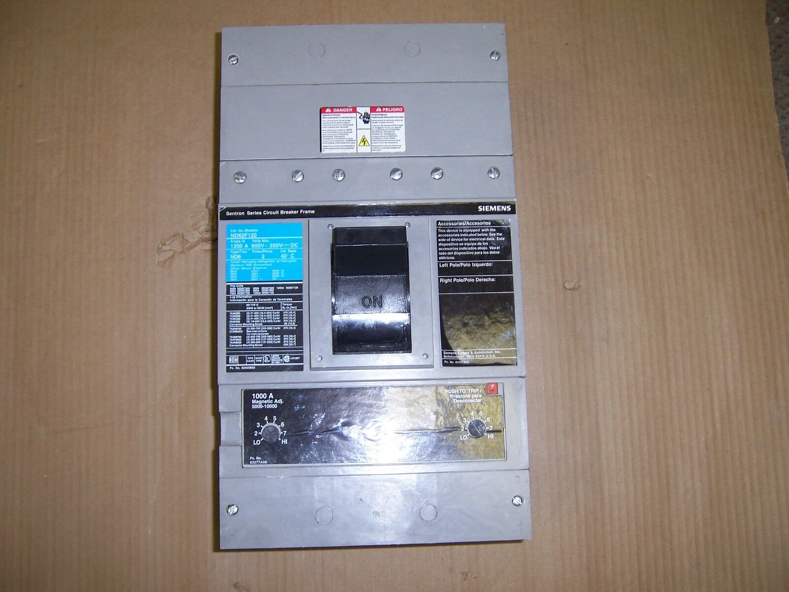 ite siemens nd6 nd62f120 2 pole 600v & trip circuit breaker house breaker fuse box &s 78 & 15 Amp Breaker Fuse. 15 Amp Series Fuse. 15 Amp Series Fuse. Image ... Aboutintivar.Com