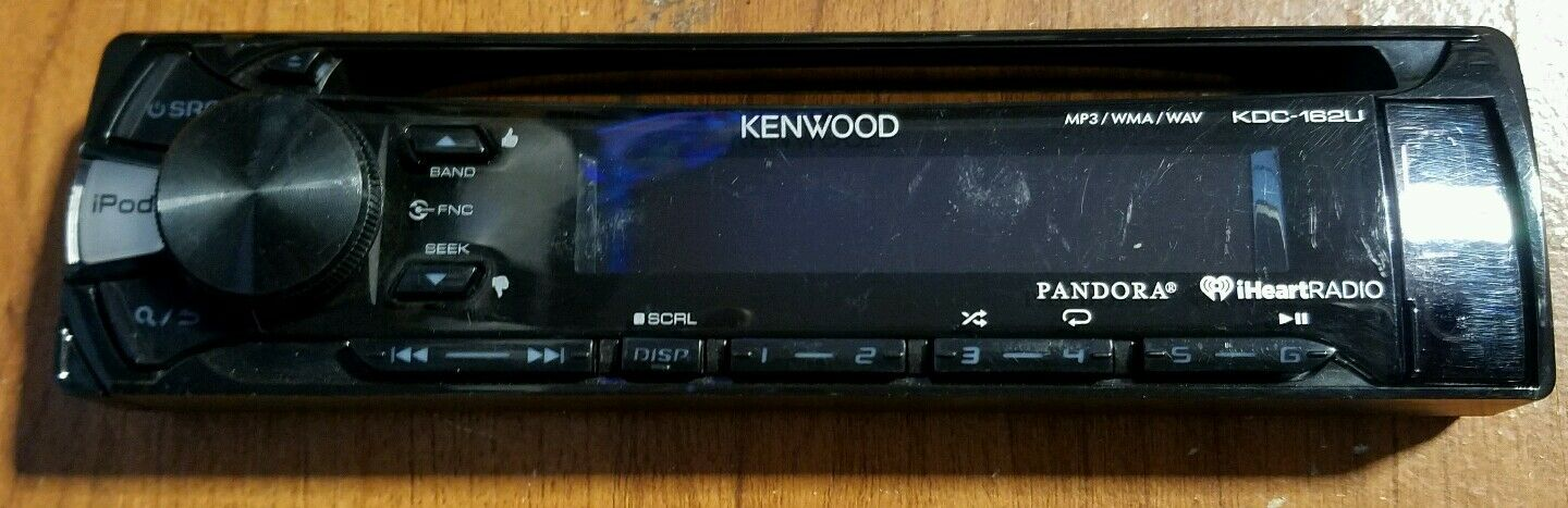 Kenwood KDC-162U CD MP3 In Dash Car Player USB AUX Receiver Stereo on kenwood harness diagram, kenwood ddx7019 wiring-diagram, kenwood surround sound wiring diagram, panasonic wiring diagrams, 2 ohm speaker wiring diagrams, subwoofer wiring diagrams, gmc truck trailer wiring diagrams, kenwood kdc 210u wiring diagrams, amplifier wiring diagrams, ford wiring harness diagrams, kenwood ddx7017 wiring-diagram, kenwood home stereo components, audio wiring diagrams, car audio install diagrams, klipsch speakers wiring diagrams, kenwood ddx512 wiring-diagram, kenwood dnx6190hd wiring-diagram, kenwood dnx7100 wiring-diagram, kenwood wiring colors, car speaker wiring diagrams,