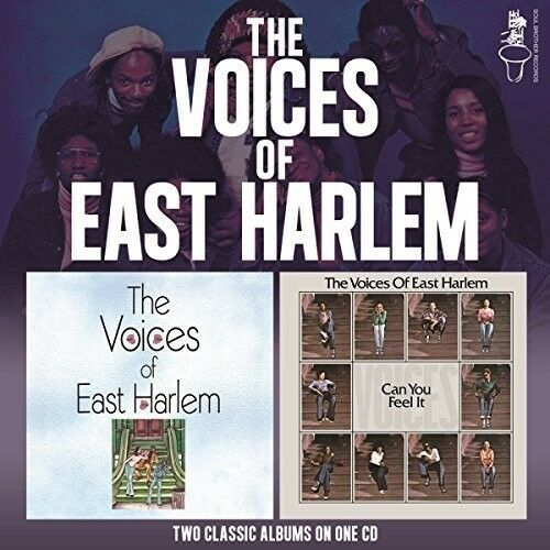 The Voices of East H - Voices Of East Harlem / Can You Feel It [New CD] UK -