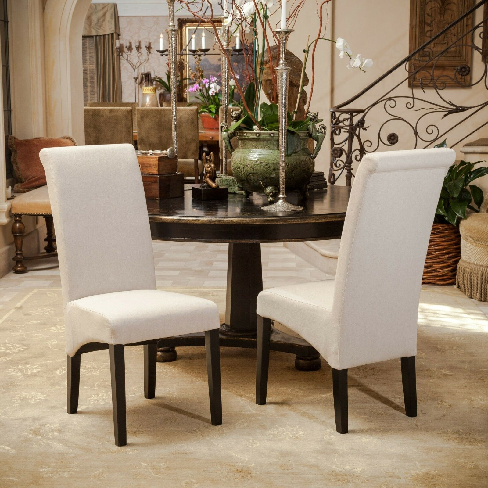 picture 1 of 3 - Parsons Dining Chairs