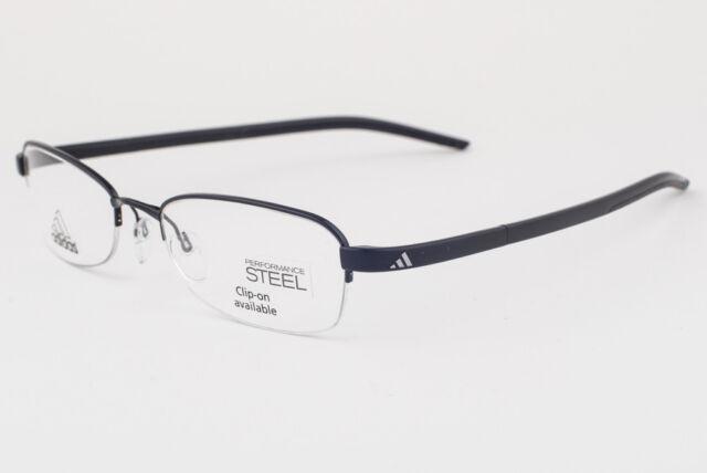 adidas A674/50 6056 Black/black 52x18 145mm Eyeglass Frames | eBay