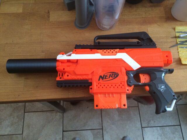 Giant Nerf Gun For Boys Sniper Scope Pistol Shotgun Vortex Blaster Machine  Green