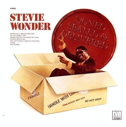 Stevie Wonder - Signed Sealed Delivered [New CD]