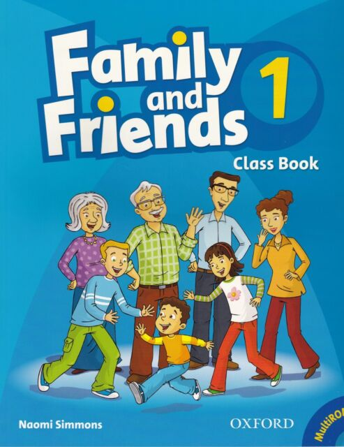 Oxford FAMILY AND FRIENDS 1 Class Book and MultiROM Pack  @BRAND NEW@