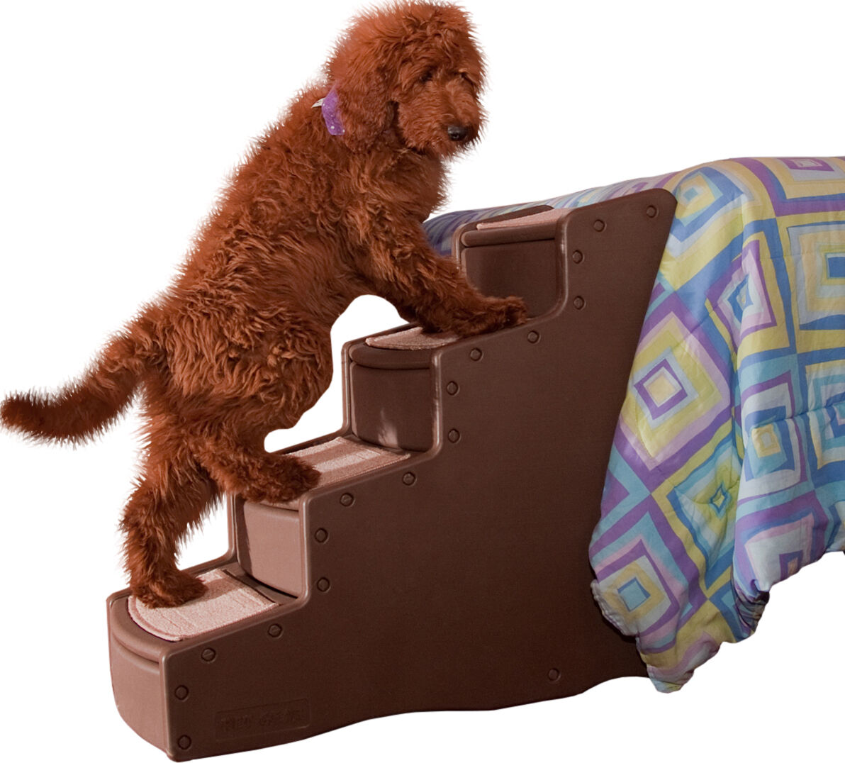 Pet Gear Easy Step III Pet Stairs, 4 Step For Cats/Dogs, Removable Washable  Carpet Treads ...