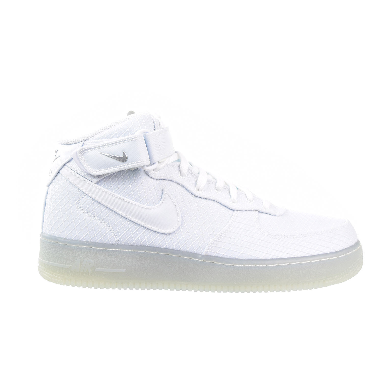 Nike Men's AIR FORCE 1 MID '07 LV8 Shoes White 804609-102 b