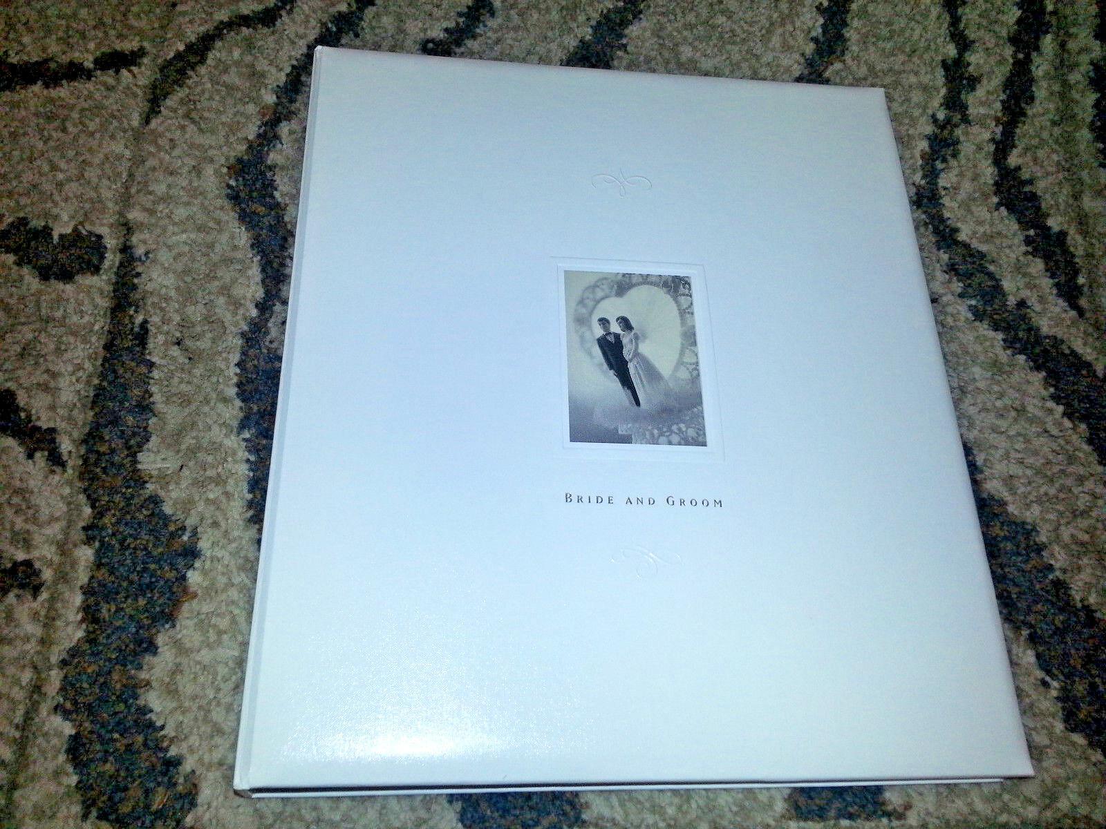 Hallmark Wedding Engaged Photo Album Scrapbook Guest Memory Book