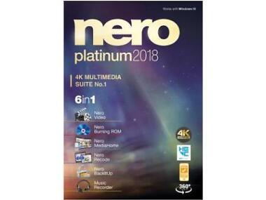 Nero Platinum 2018 Audio & Video Software
