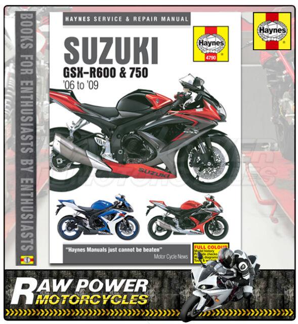 Suzuki Gsxr600 K7 599cc 2007 Haynes Manual 4790 Ebayrhebaycouk: 2007 Suzuki Gsxr 600 Repair Manual At Gmaili.net
