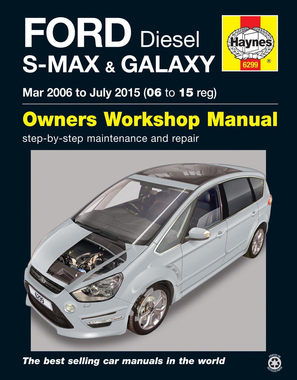 ford galaxy s max diesel mar 2006 to july 2015 haynes workshop rh ebay com Chilton Manuals Haynes Car Manuals 91 F 150
