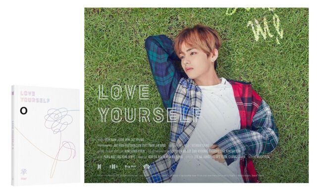 BANGTAN BOYS [O Ver] LOVE YOURSELF Her BTS 5th Mini Album CD+Photobook+Photocard
