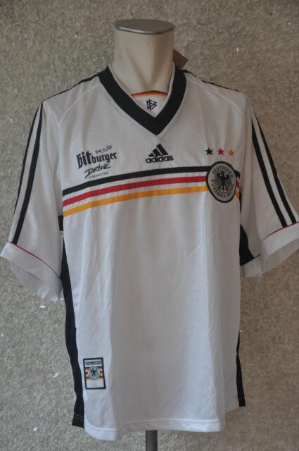 Deutschland Trikot Gr. LAdidas WM 1998 Nationalmannschaft DFB Weltmeister EM