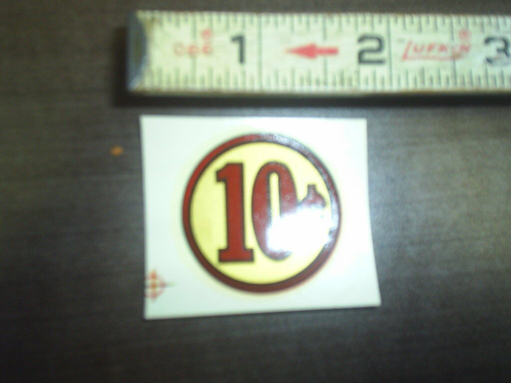 10 Cent Water Release Decal Stock 178 Ebay