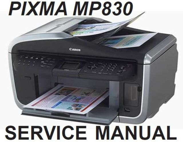 canon pixma mp830 mp 830 service repair manual parts catalog block rh ebay com Corvette Owners Manual Corvette Owners Manual