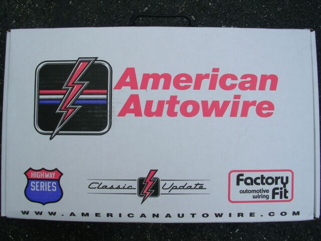 1966 1967 Ford Fairlane Wire Wiring Harness Kit American Autowire ...