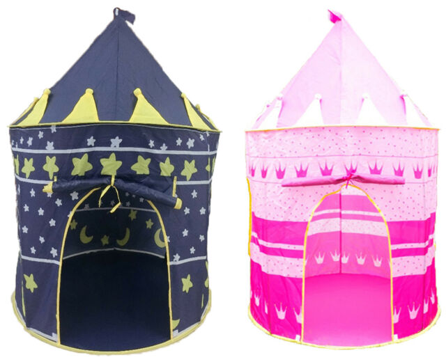 Childrenu0027s New Play House Indoor Outdoor Girls Boys Fairy Castle Pop Up Tent  sc 1 st  eBay & Childrenu0027s Play House Indoor Outdoor Girls Boys Fairy Castle Pop ...
