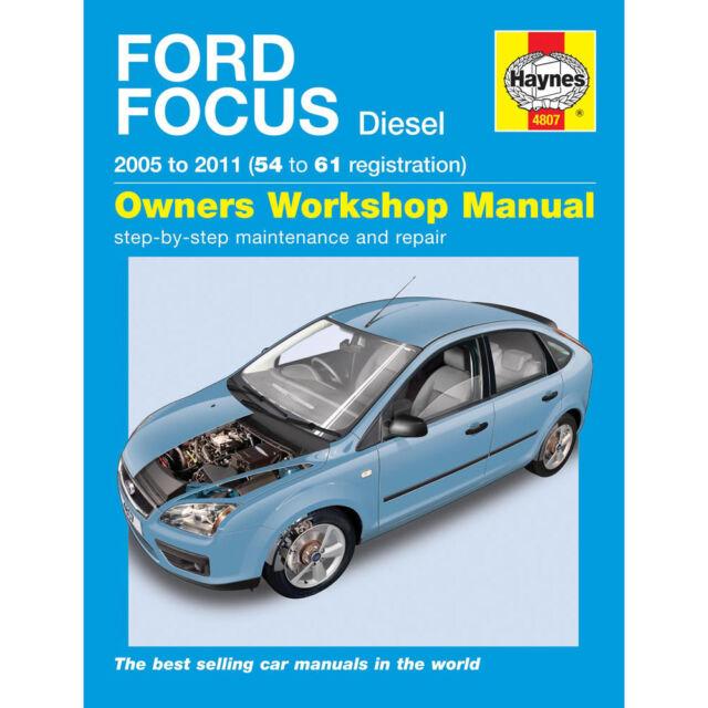 haynes manual 4807 ford focus diesel 2005 2009 ebay rh ebay com 2005 Ford Focus Owner Manual 2005 Ford Owner's Manual