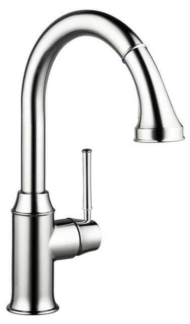 Hansgrohe 04215000 Talis C HighArc Flow Rate 1.75 GPM Kitchen Faucet ...