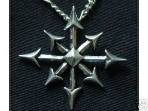 Sterling silver 925 gothic chaos magic star chaosphere pendant sterling silver 925 gothic chaos magic star chaosphere pendant charm jewelry aloadofball Gallery